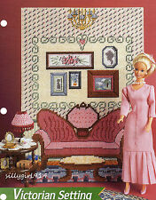 DRAWING ROOM & LAMP~PC PATTERN for BARBIE FASHION DOLL