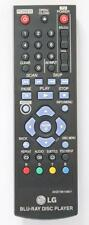 *New* Genuine LG AKB73615801 Blu Ray Player Remote Control