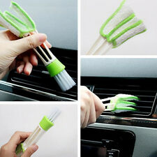 Double Head Car Air-condition Brush Dust Collector Blinds Cleaner Duster Clean