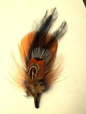 Boutonniere, Hat Feather, groom, groomsmen, ring bearer, Mens lapel boutonniere