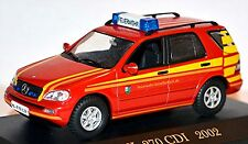 Mercedes Benz ML 270 CDI Fire brigade Commando truck