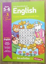 Year 1 English Educational Activity Book Home Learning Children Age 5 6 Workbook