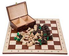 Pro Schach Set Nr. 6  - MAHAGONI BL - Schachbrett  & Schachfiguren STAUNTON 6