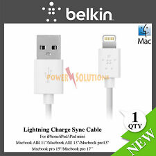 Belkin Lightning Charge Sync Cable 3m for iPhone 6 6s 6Plus 5 5s 5c iPod Touch 5