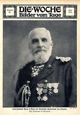 Konteradmiral Borea d'Olmo der italienische Gouverneur von Tripolis 1911