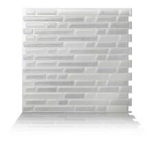 Tic Tac Tiles® - Peel and Stick Self Adhesive Smart Backsplash 10 Tiles BRS03