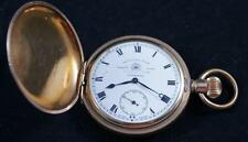 Full Hunter Pocket Watch Thomas Russell & Sons Liverpool Tempus Fugit 50mm