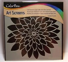 Bloom Flower Layering Stencil Art Screen for Paper Crafts, Home Decor and More!
