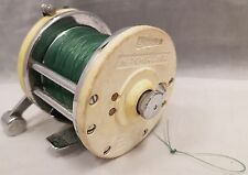 VINTAGE GARCIA MITCHELL 602 FISHING REEL W/ LINE MADE IN FRANCE