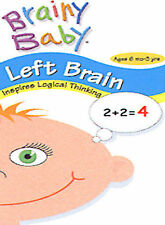 Brainy Baby: Left Brain - Inspires Logical Thinking, Good DVD, , Brainy Baby