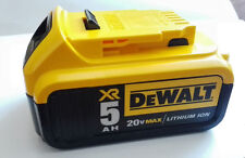 NEW DeWalt DCB205 20V MAX 5.0 Ah XR Li Ion Battery Pack AKKU for Drill Tools