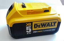 NEW DeWalt DCB205 20V MAX 5.0 Ah XR Li Ion Battery Pack AKKU for Drill Tools