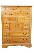 "VIRGINIA HOUSE Cabot Cove Collection 42""  Nine Drawer Master Chest"
