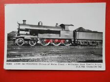 POSTCARD RP LNWR PRINCE OF WALES CLASS LOCO NO 1361 PROSPERO AT WILLESDEN SHED 2