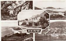 Multi View Herm White House Hotel unused RP old pc RA Series