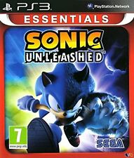 Sonic Unleashed - Sony PS3 Essentials - New & Sealed - FREE P&P