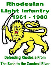 Rhodesian Light Infantry Tshirt Rhodesia
