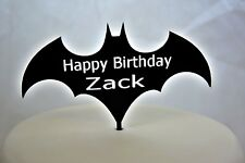 PERSONALIZZATA BATMAN Kids Nome HAPPY BIRTHDAY CAKE TOPPER BOMBONIERA speciale