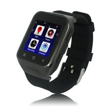 Android Watch Phone 3G Network 2.0 Camera Bluetooth Smart Watches With WiFi FM