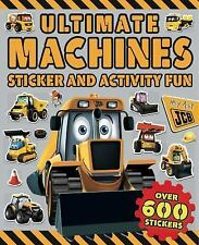 Ultimate Machines Sticker and Activity Fun by Little Bee Books Staff (2016,...