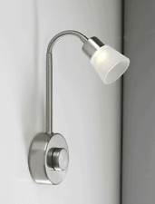Bedroom Flexible LED 3 Watt Wall Light with Rotary Dimmer and Driver built-in
