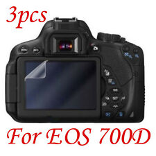 New 3pcs Clear LCD Screen Protector Guard For Canon EOS 700D Camera