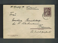 1940 Germany Waffen SS Feldpost Cover Posen Poland to Bremen