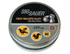 Sig Sauer Crux Ballistic Alloy .177 4.5 mm 300 pcs. Air rifle Airgun pellets
