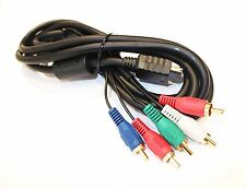 PREMIUM QAULITY PLAYSTATION 2 PS2 & SLIM COMPONENT AV HDTV VIDEO CABLE LEAD UK