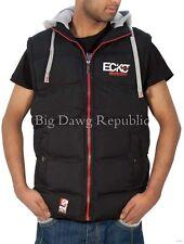 Ecko Mens Boys Gilet Full Zip Up Hooded Bodywarmer Sleeveless Jacket Hip Hop