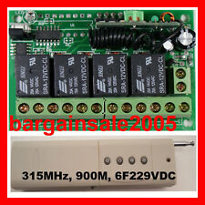 4in1 Remote Switch PLC Garage Door Open Control & Receiver 4 O/P ACDC 12V10A900M