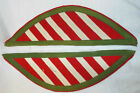 RED , WHITE AND GREEN SHOULDER BOARDS / EPAULETTES - British Army Issue