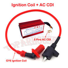 Racing Ignition Coil AC CDI For Honda CRF XR 50 Pit Dirt Bike 110cc 125cc Engine