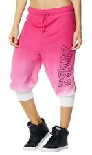 Zumba Faded Harems Pants Sz XXL PINK  NEW with tags