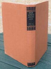 BOOK IDRIESS ION  Our Living Stone Age 1959 1st.ed.