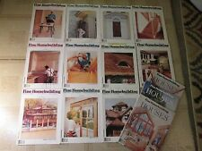 Lot of Fine Homebuilding Magazines 1990-1991 14