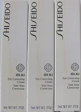 Shiseido IBUKI EYE CORRECTING Cream 5MLX3PCS 15 ML PROBEN SAMPLES