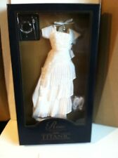 "FRANKLIN MINT TITANIC Rose 16""Vinyl Doll HEAVEN DRESS Ensemble NEW Complete NRFB"