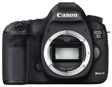 Canon EOS 5D Mark III 22.3 MP Digital SLR Camera - Black (Body Only)