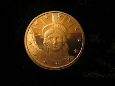 Statue Of Lady Liberty 1 oz Copper Bullion Coin Not scrap/junk The New Silver