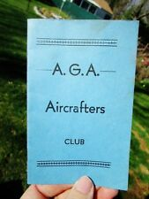 c.1940 AGA Aviation Corp Aircrafters Club, Willow Grove PA - PITCAIRN Autogiro