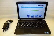 Dell Latitude E5530 2.80GHz 3rd gen Core i5 320GB 8GB Laptop DVDRW Camera Win 10