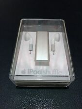 New Rare Sealed Apple iPod Shuffle 3rd Gen Silver 2GB MC306QB/A - Read Descrip