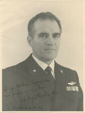 Mystery Military / Political Leader Signed Portrait