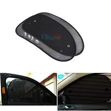 2pcs Car Side Rear Window Sun Shade Cover Shield Sunshade UV Protection
