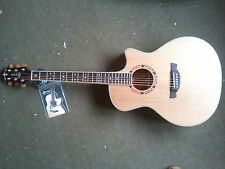 Crafter GAE15 electro-acoustic guitar WITH HARD CASE! Brand new & waranteed.