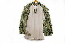 NWT NWU Type III Navy Seal AOR2 Digital Woodland FROG COMBAT FR shirt L/R