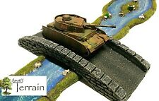 Wargames Scenery Terrain 28mm Resin Stone Bridge Bolt Action Warhammer  PAINTED