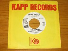 "PROMO POP / MOVIE 45 RPM - DO-RE-MI CHILDREN'S CHORUS - KAPP 864 - ""DR DOLITTLE"""