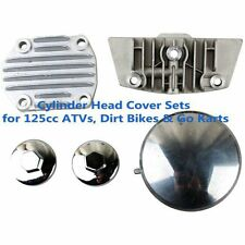 125cc CYLINDER HEAD COVER SET FOR CHINESE ATVS, AND DIRT WITH E-22 CLONE MOTORS